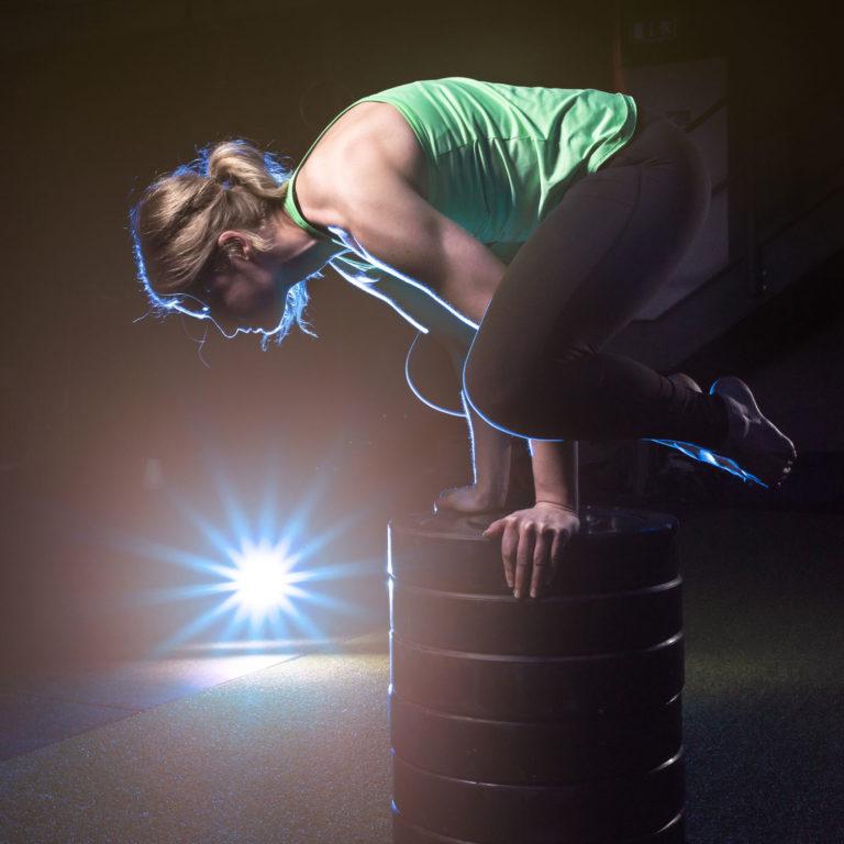 Fotograf Bottrop Sportshooting Sportlerin Akrobatik