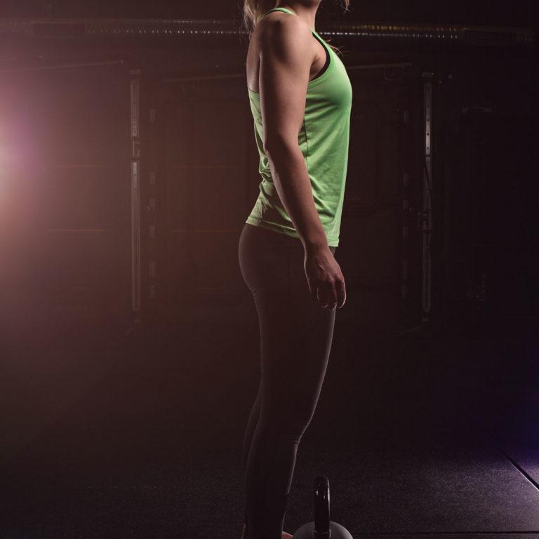 Fotograf Bottrop Sportshooting Sportlerin Portrait