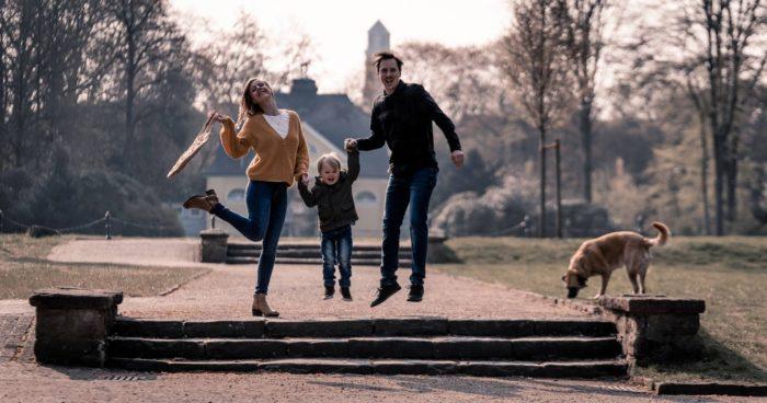 Fotograf Bottrop Stadtgarten Familienshooting Familie