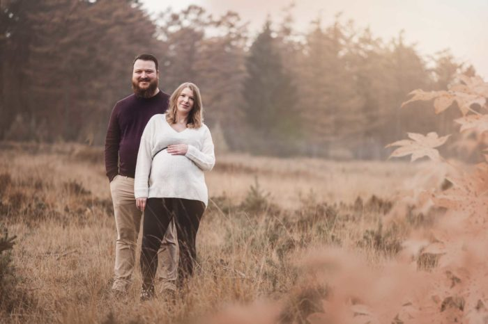 Fotograf Bottrop Paarshooting Babybauchshooting Heide
