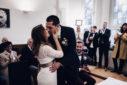 Hochzeitsfotograf Bottrop Hochzeit Standesamt Rathaus im Standesamt
