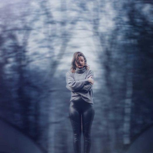 Fotograf Bottrop Portrait Frau Photoshop