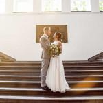 Fotograf Bottrop Hochzeitsfotograf Brautpaar Treppe