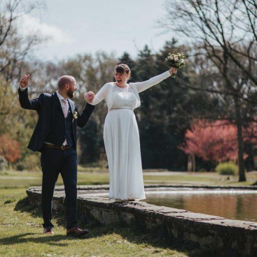 Fotograf Bottrop Hochzeitsfotograf Brautpaar Lachen