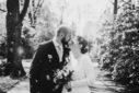 Fotograf Bottrop Hochzeitsfotograf Brautpaar schwarzweiss