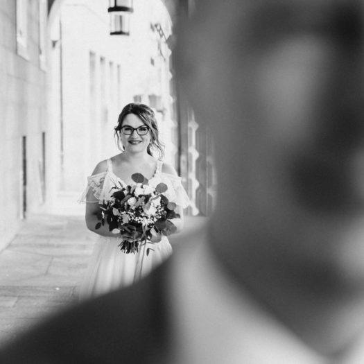 Fotograf Bottrop Hochzeitsfotograf Brautpaar Firstlook